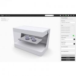 Imprimante 3D Markforged Onyx Pro, logiciel Eiger