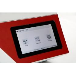Vue de l'écran tactile de l'APIUM M220 Series