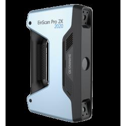 Scanner 3D portable à lumière structurée Einscan Pro 2x V2