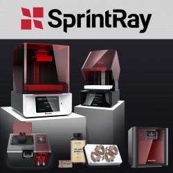 Le contenu du pack Sprintray