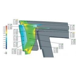 Scanner 3D à lumière structurée EVIXSCAN Heavy Duty Quadro, contrôle dimensionnel