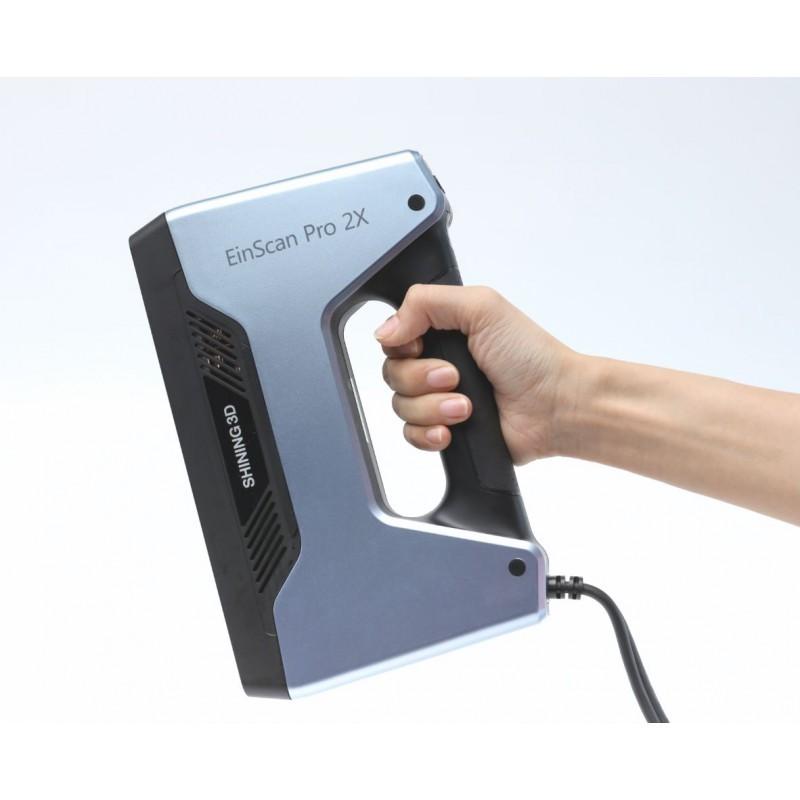 Scanner 3D portable à lumière structurée Einscan Pro 2x