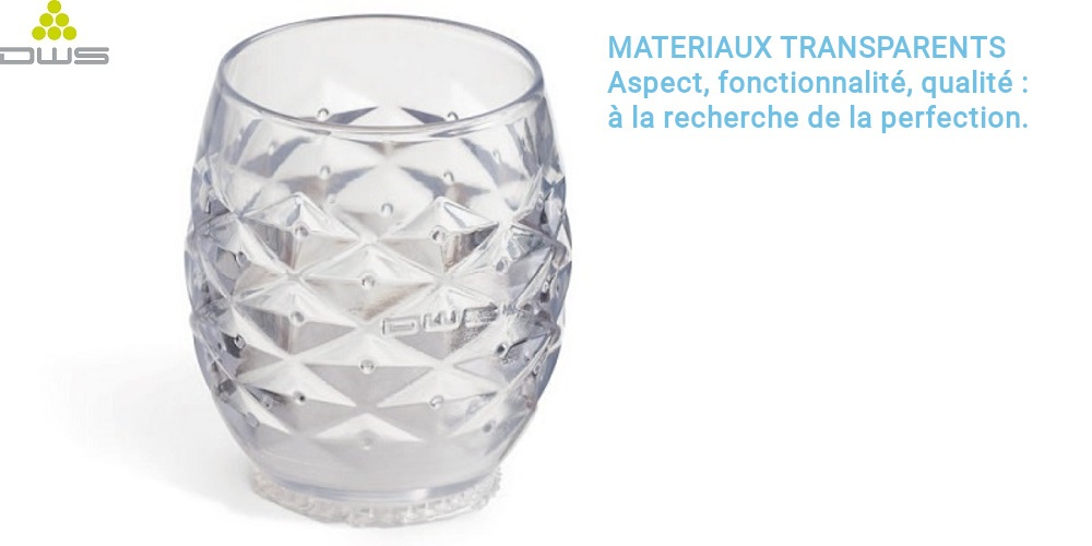 DWS XFAB 3500SD matériau transparent