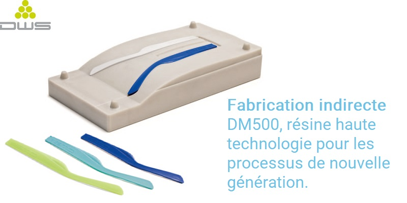 DWS XFAB 3500SD impression produit final