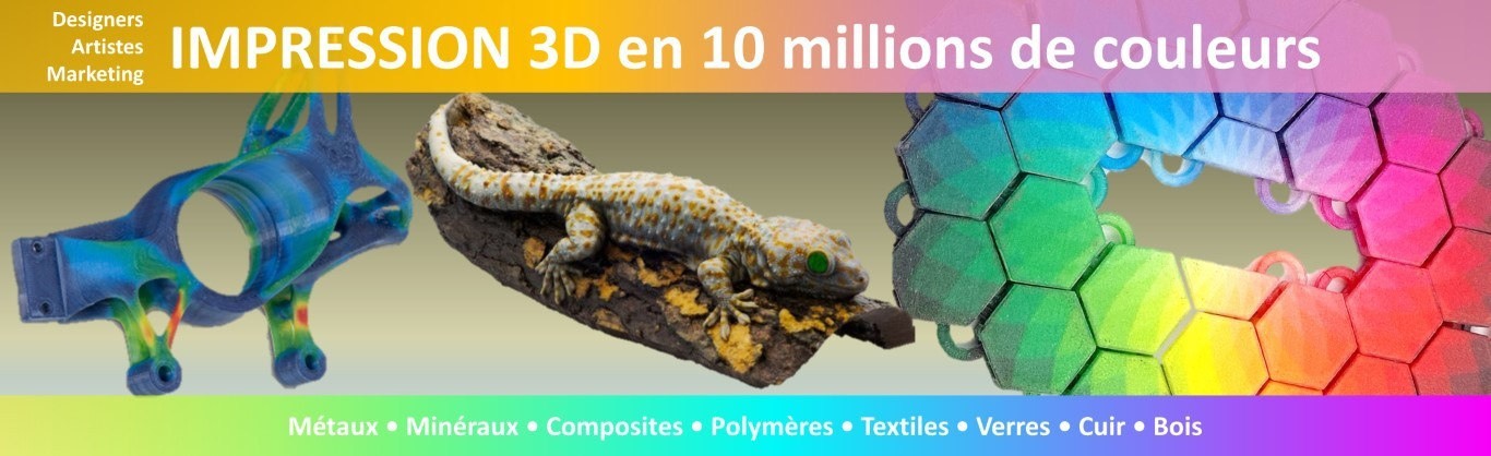 Impression 3D Couleurs